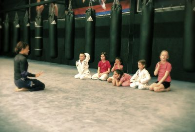 Kids training